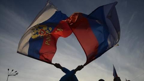 Το 67% των Ρώσων τάσσεται υπέρ της προσάρτησης της Κριμαίας