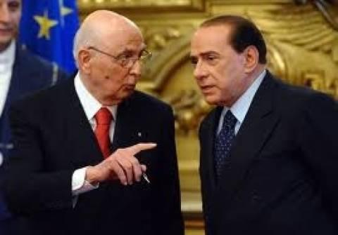 Ιταλία: Συνάντηση Μπερλουσκόνι-Ναπολιτάνο