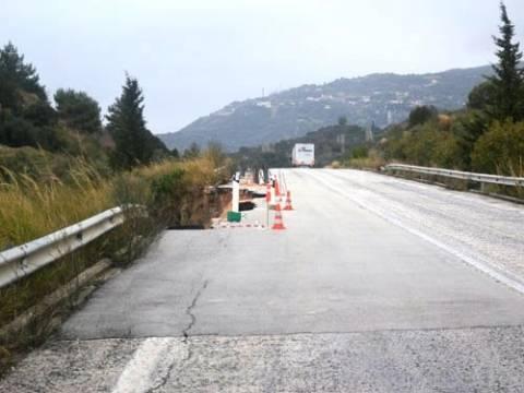 Ε.Ο. Πρέβεζας- Ηγουμενίτσας: Κλειστή για 10 μέρες η Γέφυρα της Δέσπως
