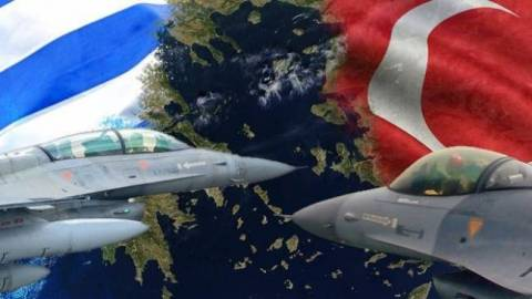 Turks continue violations in the Aegean!