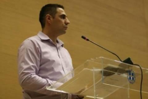 Επίσκεψη Σ. Ιωαννίδη στους τραυματίες φοιτητές του Παν/μιου Μακεδονία