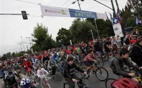 Την Κυριακή ο Ποδηλατικός Γύρος της Αθήνας