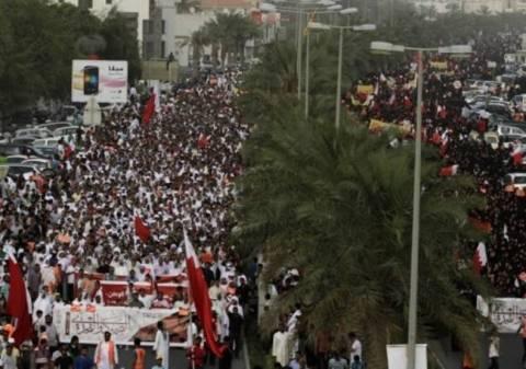 Μεγάλη διαδήλωση στο Μπαχρέιν πριν τον αγώνα της F1