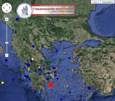 Σεισμός 5,6 Ρίχτερ νοτιοανατολικά της Ύδρας