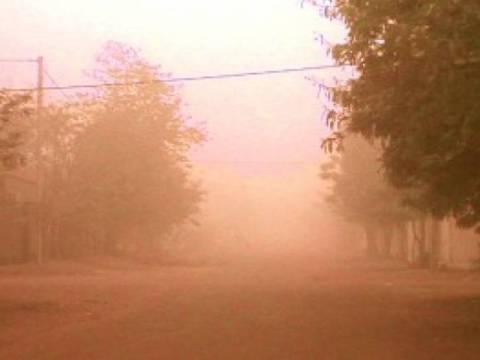 Υγρασία και αφρικανική σκόνη και σήμερα