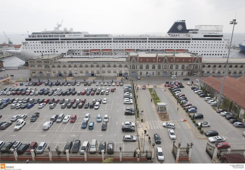 Το κρουαζιερόπλοιο «ARMONIA» στην Θεσσαλονίκη (pics)