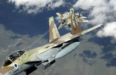 Αεροπορικές επιδρομές στη Γάζα από ισραηλινά μαχητικά