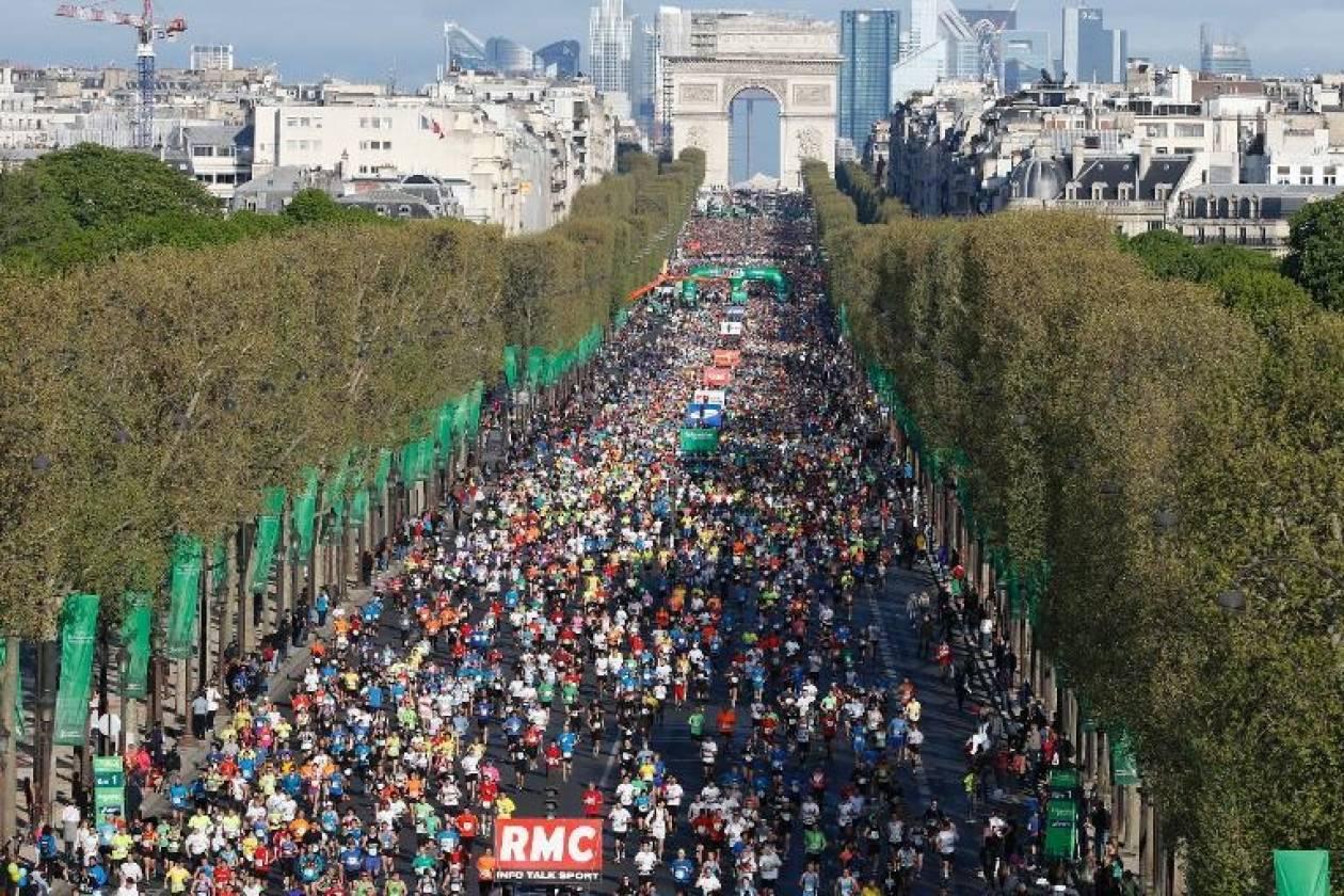 Μαραθώνιος Παρίσι: Στεφάνι από το Μαραθώνα στους νικητές