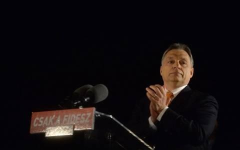 Ουγγαρία: O πρωθυπουργός Ορμπάν ανακοίνωσε τη νίκη του κόμματός του