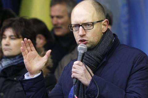 Γιατσενιούκ: Υπάρχει σχέδιο για τον διαμελισμό της Ουκρανίας