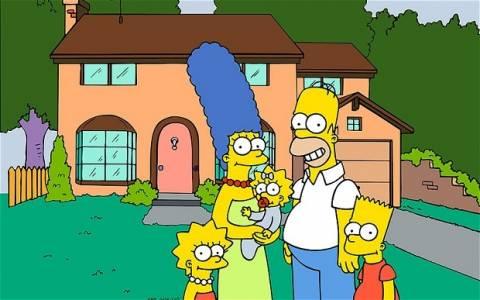 Οι Simpsons αποχαιρέτησαν τον Ντέιβιντ Λέτερμαν (vid)