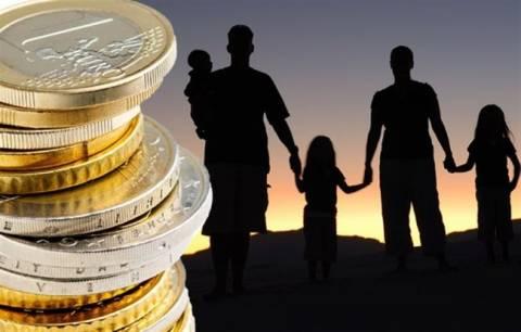 Αυξάνεται το επίδομα: Στα 833 ευρώ για οικογένεια με δύο παιδιά