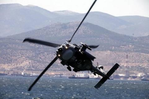 Военные вертолеты над Ламией
