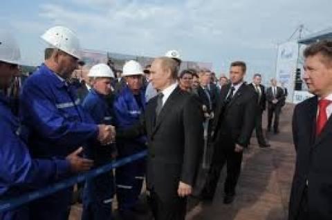 Gazprom: Παρέμβαση Πούτιν για την «προκαταβολή» αερίου