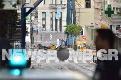 ΦΩΤΟΡΕΠΟΡΤΑΖ: To newsbomb.gr στο σημείο της έκρηξης
