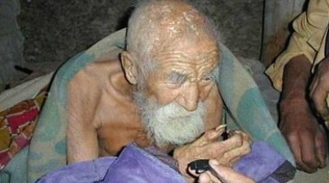 Ινδός ισχυρίζεται ότι είναι 179 ετών!