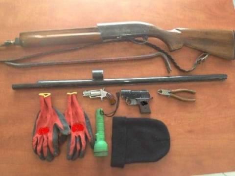 Εύβοια: Βρέθηκε οπλοστάσιο στο σπίτι ενός 21χρονου