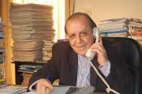 Ανεξάρτητος υποψήφιος στις ευρωεκλογές Τουρκοκύπριος εκδότης
