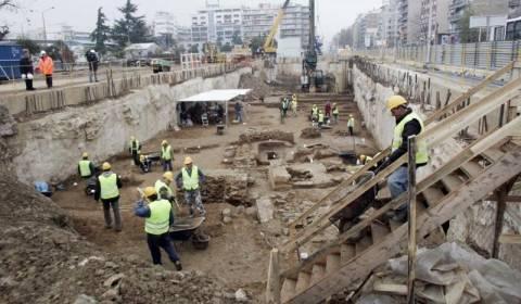 Θεσσαλονίκη: Πορεία στο κέντρο από εργαζόμενους του μετρό