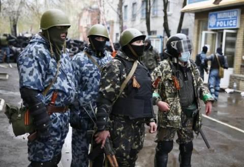 Νεκρός Ουκρανός αξιωματικός στο Σλαβιάνσκ