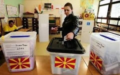 ΠΓΔΜ: Σε εξέλιξη η ψηφοφορία για τις προεδρικές εκλογές