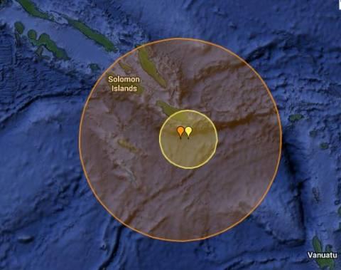 Μετασεισμός 7,5R στα Νησιά του Σολομώντα-Προειδοποίηση για τσουνάμι