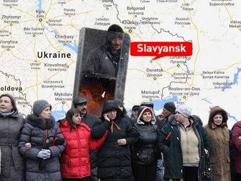 Οι ρωσόφωνοι παίρνουν τα όπλα στην Ανατολική Ουκρανία