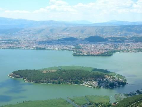 Απαγόρευση αλιείας στη λίμνη Παμβώτιδα