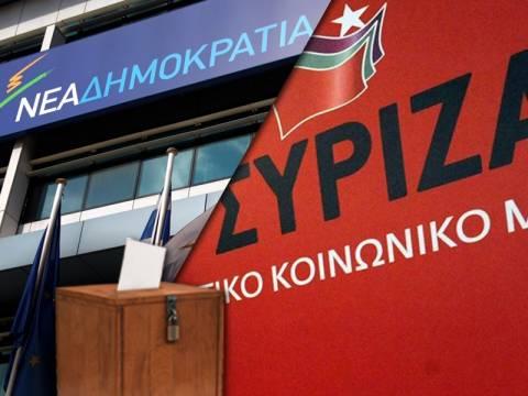 Νέα δημοσκόπηση: Ντέρμπι Νέας Δημοκρατίας - ΣΥΡΙΖΑ
