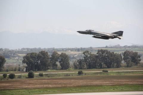 Πολεμική αεροπορία: Εντυπωσιακές εικόνες από την άσκηση «ΗΝΙΟΧΟΣ 2014»