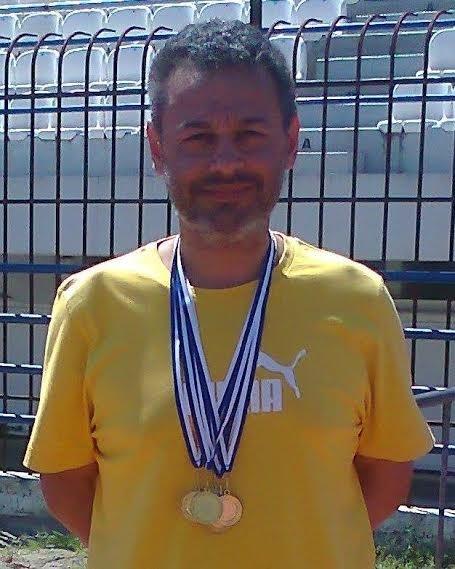 Μάθημα ζωής: Λαμιώτης νεφροπαθής κατέκτησε 5 μετάλλια (photos)
