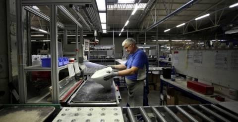 Μείωση δείκτη κύκλου εργασιών στη βιομηχανία