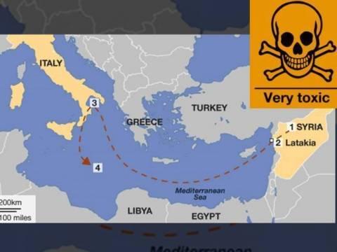 Μήνυση στον Άρειο Πάγο για τα χημικά στη Μεσόγειο θάλασσα