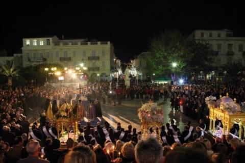 Το πρόγραμμα του εορτασμού της Μεγάλης Παρασκευής στη Σύρο