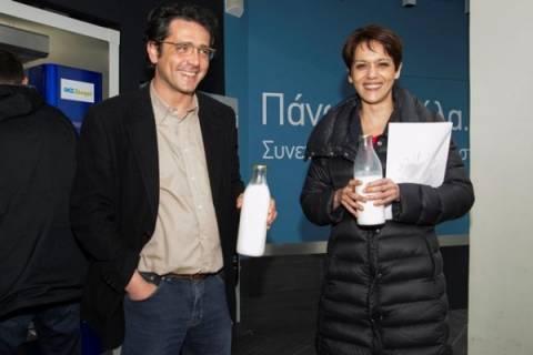 Η Αλ Σάλεχ «διαφημίζει» το ελληνικό γάλα