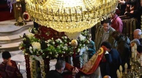Η Αποκαθήλωση στο Ναό της Παναγίας Ναυπλίου
