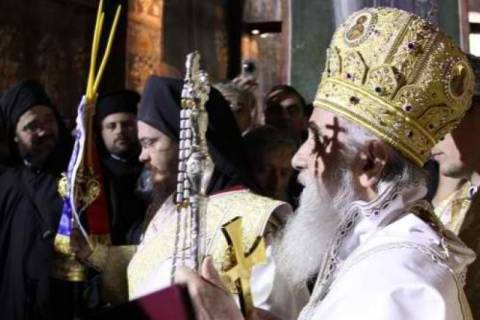 Ο Πατριάρχης Σερβίας στο Πασχαλινό Μήνυμά του αναφέρεται στην Ουκρανία