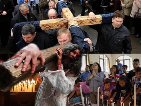 Η Εβδομάδα των Παθών σε όλο τον κόσμο (pics)