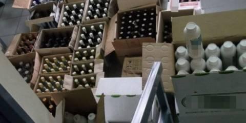 Δράμα: Σύλληψη για λαθραίο αλκοόλ και γεωργικά φάρμακα