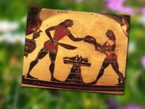 Πώς έφτιαχναν οι Αρχαίοι Έλληνες αρνί στη σούβλα και κοκορέτσι