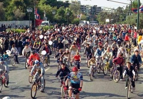 Ο 18ος Λαϊκός Ποδηλατικός Γύρος στα Τρίκαλα