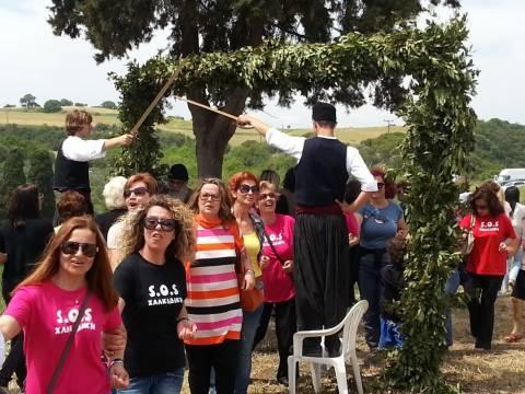 Ιερισσός: Αναπαράσταση σφαγής στο «Μαύρο αλώνι»