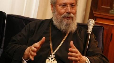 Αρχιεπίσκοπος Κύπρου: «Γινόμαστε «όργανα προπαγάνδας» των Τούρκων»