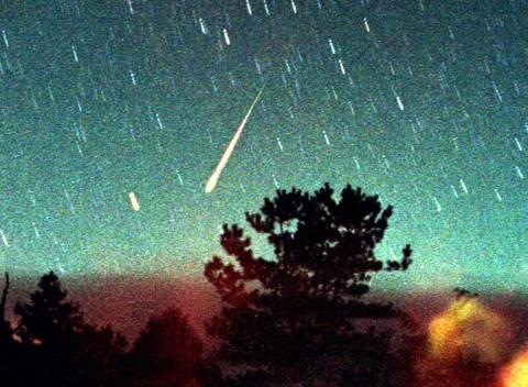 Σήμερα η πρώτη βροχή αστεριών της Άνοιξης