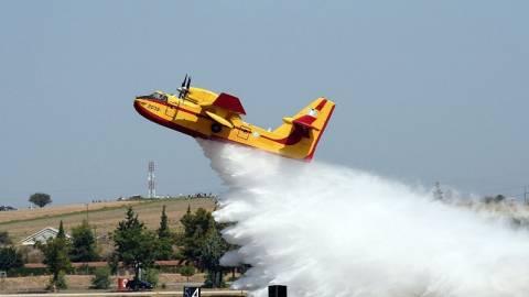 Τι βλέπει ένας πιλότος πυροσβεστικού αεροπλάνου (vid)