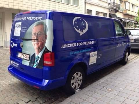Με βανάκια... ο Γιούνκερ γυρίζει την Ευρώπη