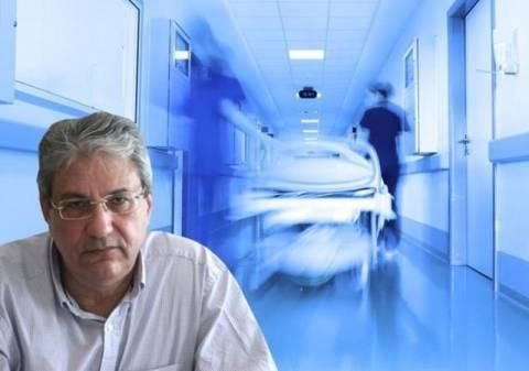 Δ. Βαρνάβας: Πολλά νοσοκομεία κινδυνεύουν με λειτουργικό λουκέτο