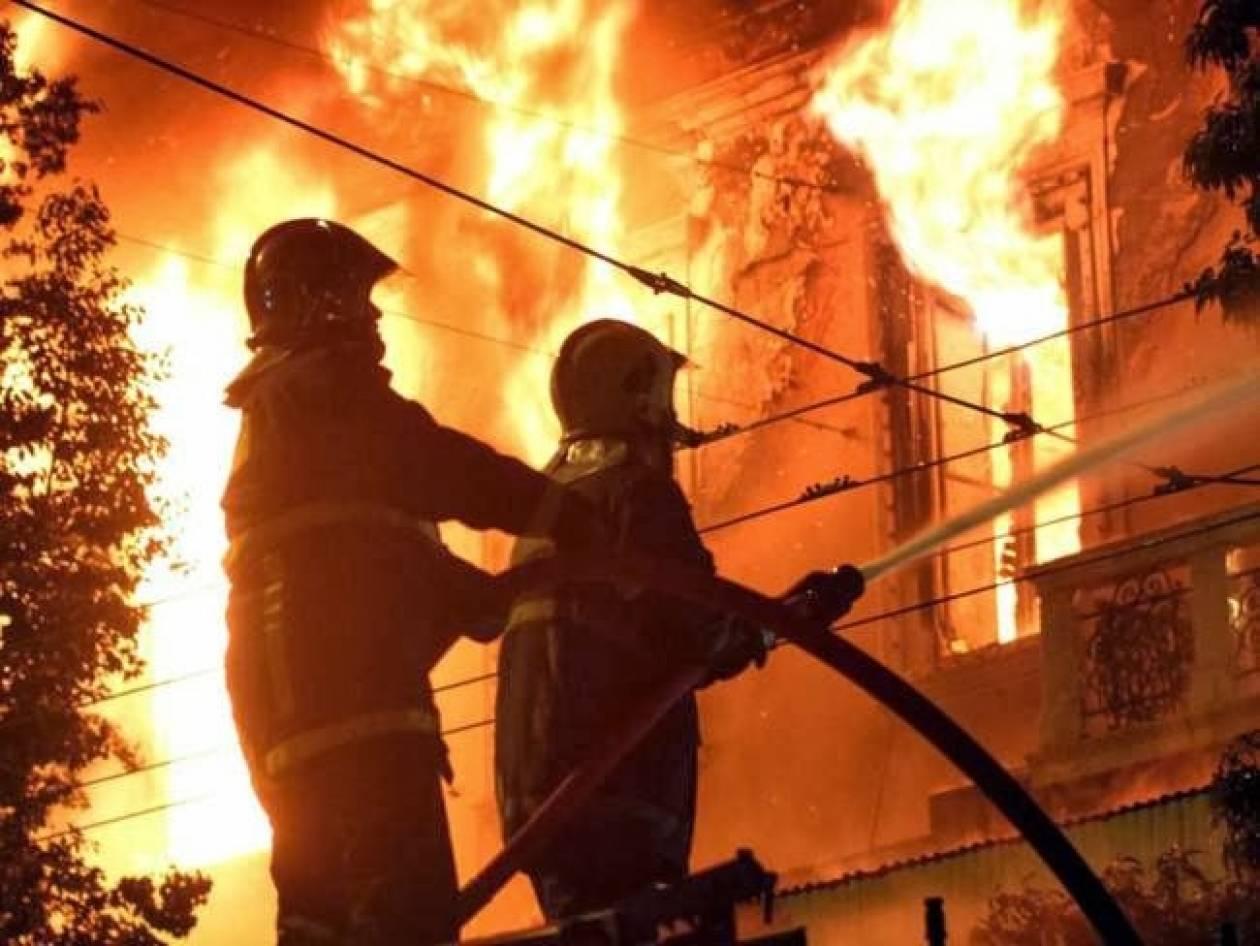 Τραγωδία στην Άνδρο: Τυλίχθηκε στις φλόγες 75χρονος