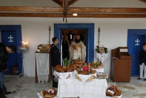Εορτή του Αγίου Γεωργίου στο Ναύσταθμο Σαλαμίνας