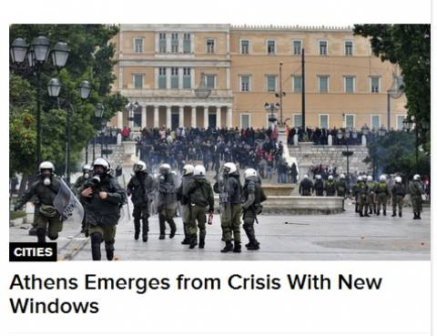 Bloomberg: «Αισθητικές επεμβάσεις» στο κέντρο της Αθήνας